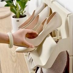 단수추가 계단식 간편연결 신발정리대 신발장 수납선반