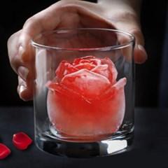 장미 꽃 실리콘 얼음틀 비누 캔들 몰드 3size