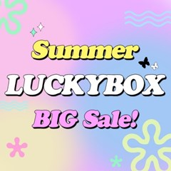 LUCKY BOX 두근두근 럭키박스 정품 캐릭터 봉제 인형 4종 랜덤