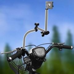 자전거 우산거치대 3단관절 비오는날 행거
