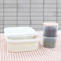 파스텔 쌀통 3kg+잡곡통 900ml 2개