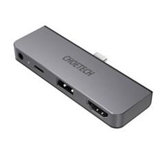 초텍 4in1 C타입 to HDMI 어댑터 HUB-M13-BK