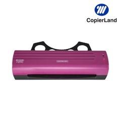A4 소형 코팅기 H290 2롤러 코팅지100매 퍼플
