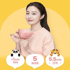 아이바나리 김태희 마스크 키즈 라벤더퍼플 초소형 1매포장 40개