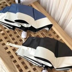 투톤 자동 3단 양우산 2color