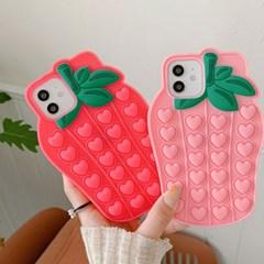 딸기딸기 푸시팝케이스(아이폰전기종)