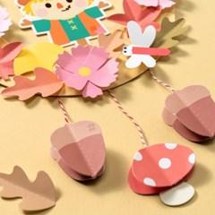 가을 만들기 종이리스 허수아비 만들기 재료 미술놀이