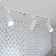 LED 렌즈 투광기 COB 트랙용 레일조명 30W