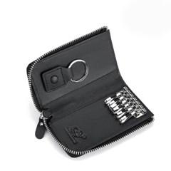 바이슨데님 수제 지퍼 멀티 키 자동차키 열쇠지갑 N9705-1B