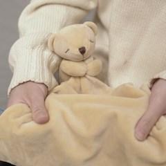 베베블랑 보들보들 힐링 블랑킷 쿠션 (곰,코끼리)