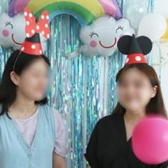 생일 고깔 꼬깔 모자 DIY 만들기 4종 [해피벌스데이 파티 축하 용품]