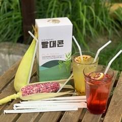 워너홈 빨대콘 친환경 100% 생분해 주름 빨대 (1박스 150개)