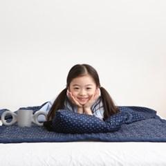 풍기인견 스칸디콜렉션 아기이불 여름 베개세트 (솜포함)