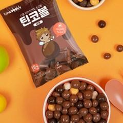 [단품] 무설탕 단백질 프로틴 초코볼 밀크 다크 45g