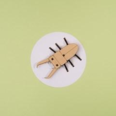 [DIY 넓적사슴벌레 만들기] 엄마표 집콕놀이 취미 키트