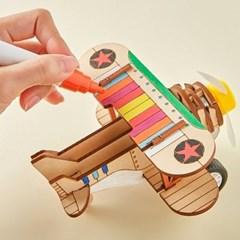 [돌고래 비행기] DIY 어린이 코딩 조립 장난감