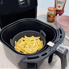 심플쿡 실리콘 에어프라이어용기 그릇 대형 21cm