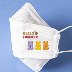 KC인증 여름 마스크 꾸미기 판박이 타투 스티커
