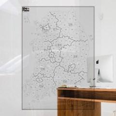 쓰고 지우는 투명 지도 - 맵플래너