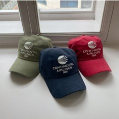 심플 에어라인 캡 모자