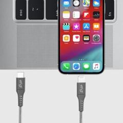 USB PD C TO 라이트닝 8핀 MFI 아이폰 고속충전 케이블