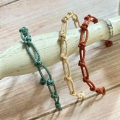 (제작) 매화 매듭 팔찌 3color