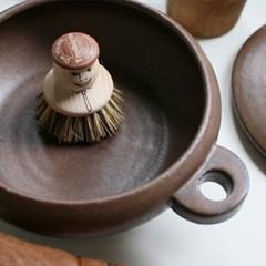 [독일 레데커] 스마일 팟 브러쉬 냄비 주물팬 그릴 세척