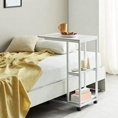 베드테이블 침대사이드테이블 틈새선반 이동식테이블