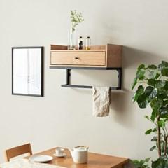 카페인테리어 주방소품정리선반 벽걸이선반 벽수납장