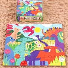 [이부] 공룡공원 36피스 미니퍼즐 3세이상
