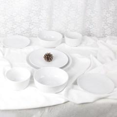 로모노소프 화이트엣지 접시 4종 세트 4P A2904