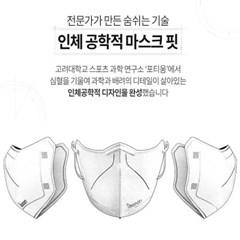 아이바나리 AD 김태희 마스크 대형화이트 1매포장10개