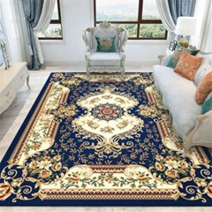 페르시안 카페트 거실 북유럽 대형 러그 사계절 침실 카펫 J