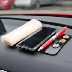 [홈달] 차량용 3단 논슬립패드 핸드폰거치대 휴대폰 접착홀더