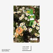 BFMA A3 포스터 - 플라워티라노
