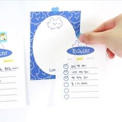 레비몽 여름한정 떡메모지 100매세트