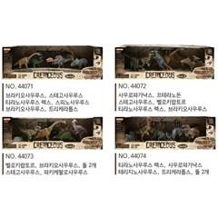 도너랜드 백악기 공룡피규어 4종 4407
