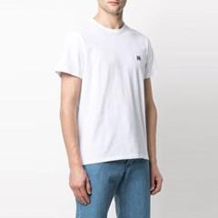 21FW 폭스 패치 반팔 티셔츠 화이트 GM00118KJ0008 WH