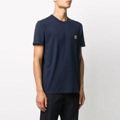 21FW 폭스 패치 티셔츠 네이비 AM00103KJ0008 NA
