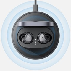 [사운드피츠] H1 블루투스 이어폰 무선충전 게이밍이어폰