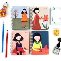 더오픈하우스 소녀 색지수첩-23-3218
