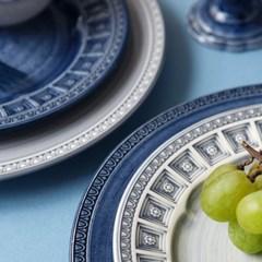 포르투갈 수입 그릇 어거스타 사이드 디너 접시 플레이트