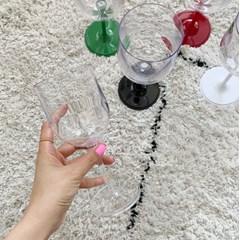 깨지지 않는 접이식 와인잔2P & 캐리어