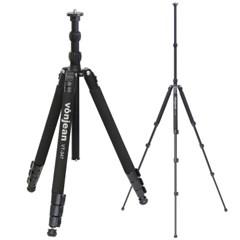 VT-347TX 프리미엄 키큰 카메라 삼각대 + VD-605 비디오 헤드 SET