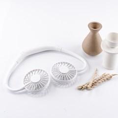 [누아트] 핸즈프리 넥밴드 휴대용 무선 선풍기(4Color)