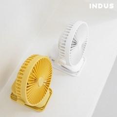 인더스 탁상용 무선 충전식 선풍기