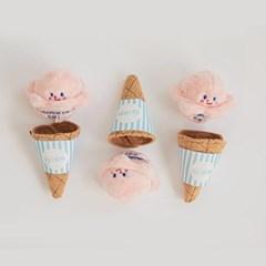 바잇미 딸기 아이스크림 장난감(노즈워크/삑삑/바스락)