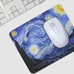 갤러리디엠 명화 초극세사 마우스패드 고무 미끄럼방지 휴대용