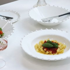 화이트 스노우 로얄애덜리 샐러드 디너 쿠프볼 (28.3cm)