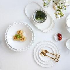 화이트 로얄애덜리 카레 샐러드 파스타볼 (2 Size)